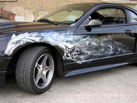 Auto Airbrush by Autos Cars Automotive Design Airbrush On