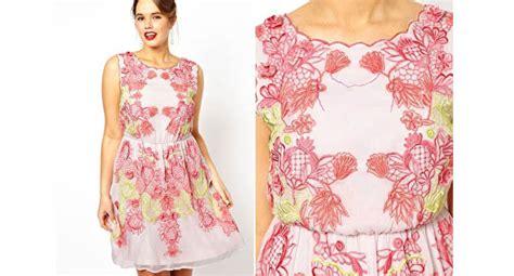 Dress Putih Bunga Besar Sku24907 6 model dress untuk wanita gemuk agar tak langsing