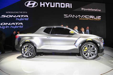 hyundai crossover hyundai crossover santa cruz concept truck