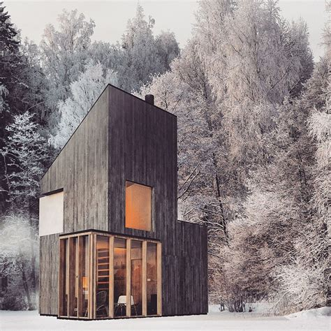 winter mountain house ideas modern minimalism meets wooden warmth inside small winter