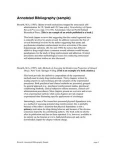 annotated bibliography template annotated bibliography exle obfuscata