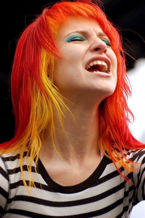 hayley williams hair color we are paramore hayley williams w yellow hair