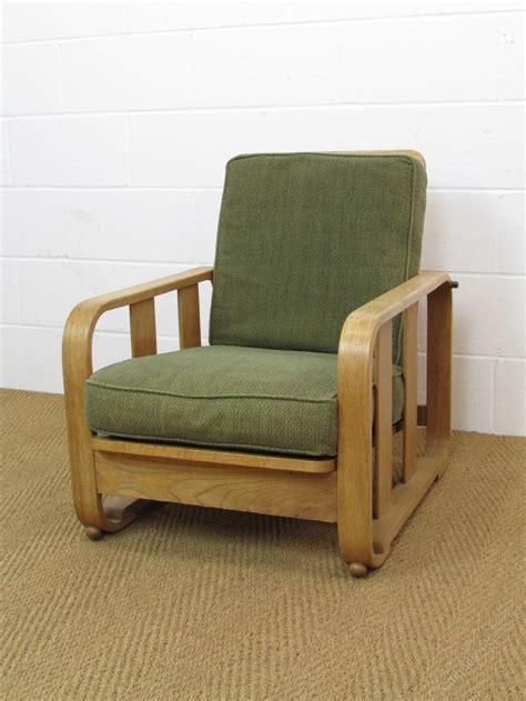 heals armchair heal s limed oak recliner easy armchair antiques atlas