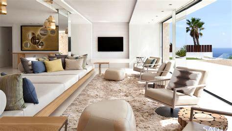 style modern villa in ibiza interiorzine
