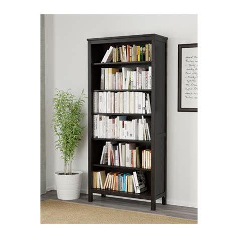 Hemnes bookcase black brown 90x197 cm ikea