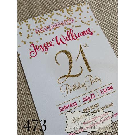 21st Birthday Invitation Card Design 101 Birthdays 21st Birthday Invitation Card Template