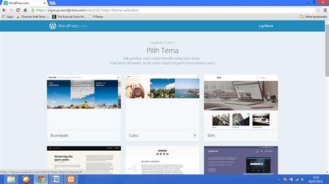 membuat wordpress bagus e business cara membuat wordpress online beserta gambar