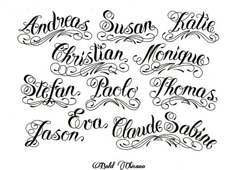 tattoo font viewer pin lettering styles on