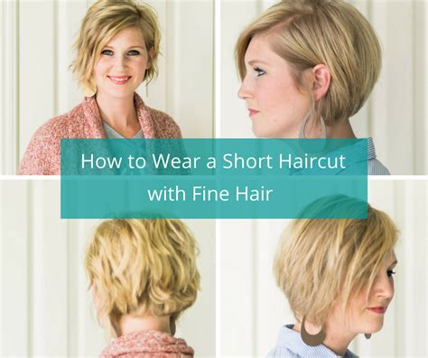 how to wear a hairstyle cut with a lot of layers how to wear a short haircut with fine hair happymeetshome