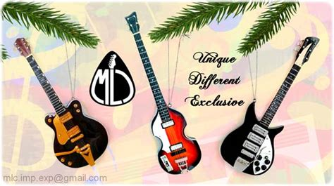 guitar ornaments for christmas tree legends collection official web site themed gifts idea for lover wholesale