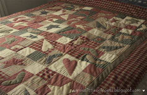 Country Quilt by S Snippets Primitive Rustic