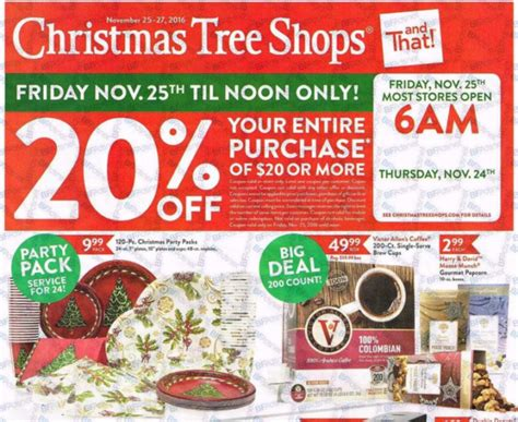 christmas tree shop black friday deals full ad scan