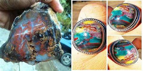 Batu Permata Akik Klawing batu akik klawing pancawarna harga dan khasiatnya top