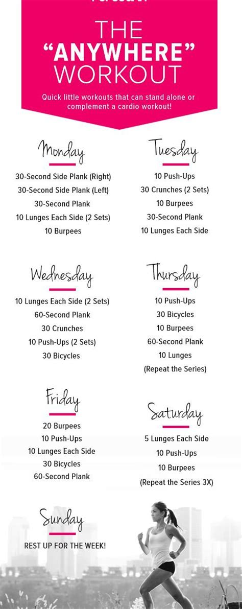 25 best ideas about weekly workout schedule on