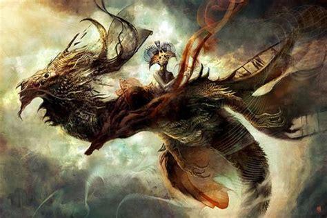 imagenes mitologicas aztecas ranking de las mejores criaturas mitol 243 gicas y