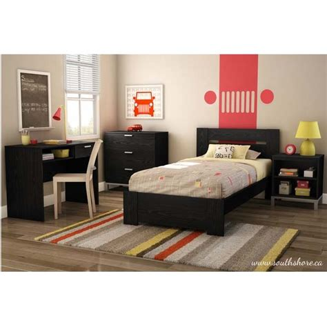 twin bed headboard and footboard southshore flexible collection twin bed kit headboard