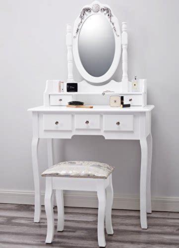 white dressing table mirror dressing table mirror stool set premium