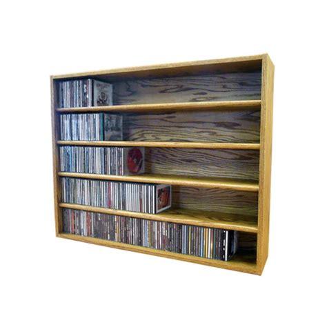 Wood Cd Shelf by Wood Shed Solid Oak Cd Storage Rack 470 Cd Capacity Tws 503 3