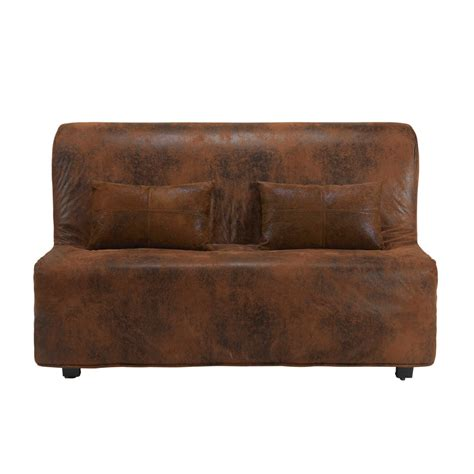 brown microsuede sofa buy cheap futon cover compare products prices for best