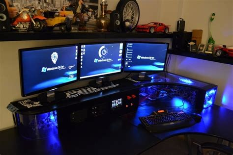 pc dans bureau bureau gaming ikea le coin gamer