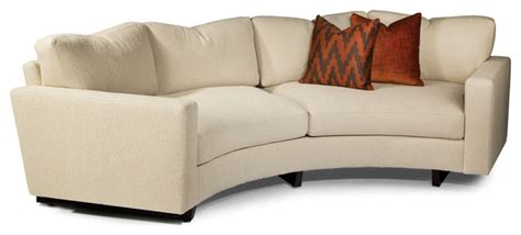 cool clip sectional from thayer coggin contemporary clip curved sofa from thayer coggin contemporary sofas