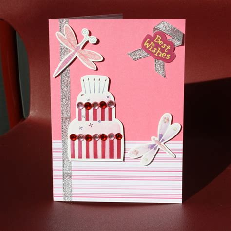 Handmade Birthday Cards - handmade birthday cards for let s celebrate