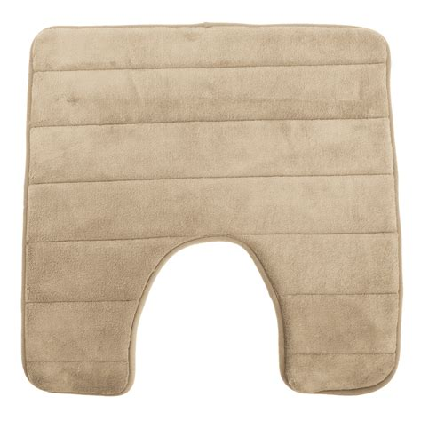 bathroom toilet rugs luxury non slip memory foam bathroom toilet bath pedestal mat contour rug ebay