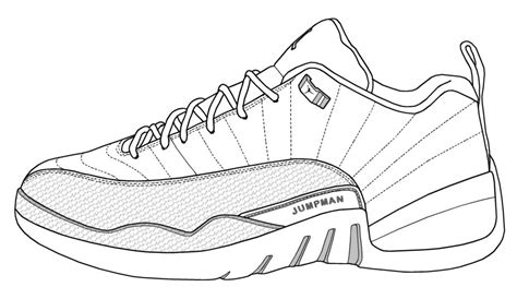 Air Jordan 6 Original Coloring Pages Jordans Coloring Pages