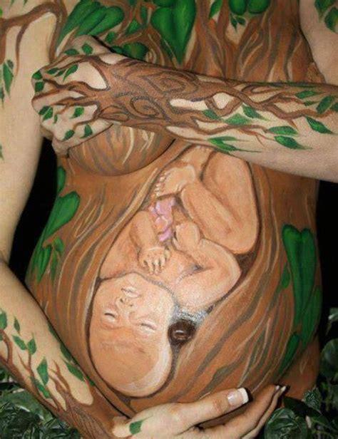 embarazadas arte painting el 225 rbol de la vida de elembarazo net