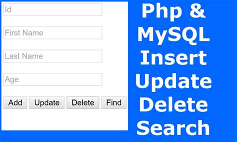 date format in mysql while inserting php how to insert update delete search data in mysql