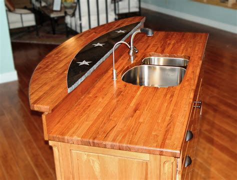 Kitchen Countertop Inserts by Custom Wood Countertop Options Marble Granite And Wood