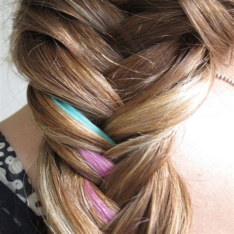 fishtail braid pictures how to do a colorful fishtail braid hair tutorial with