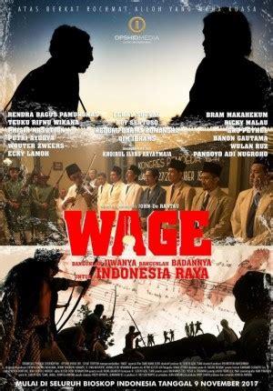 film lucy sinopsis indonesia sinopsis film wage 2017 perjalanan hidup pencipta lagu
