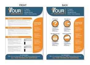 flyers designs templates a4 flyer design for technology services co flyer design
