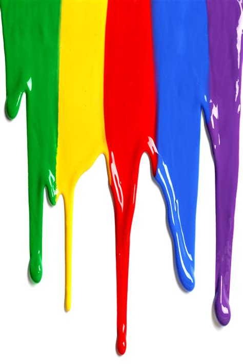 dripping colorful paint iphone  wallpaper hd