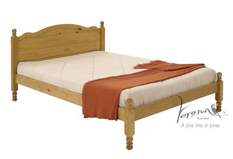 Pine Wood Bed Frames Wooden Beds Verona Roma Pine Bed Frame Click 4 Beds