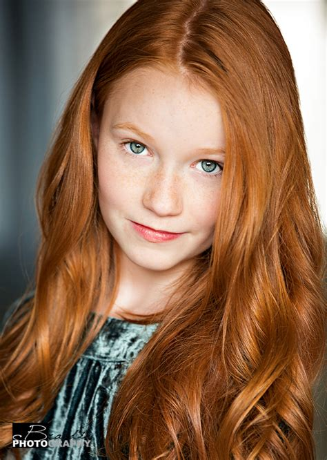 kid actresses with red hair kids headshots blog