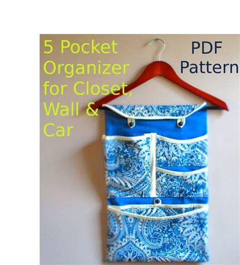 pattern for fabric organizer pdf pattern fabric pocket organizer for wall by