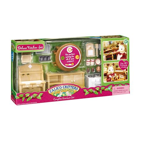 Calico Critters Kitchen by Calico Critters Deluxe Kitchen Set Qc Supply