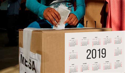 conozca el calendario electoral   en colombia