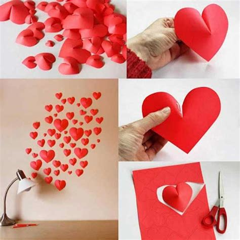 diy valentines decorations best 35 easy heart shaped diy crafts for valentines day