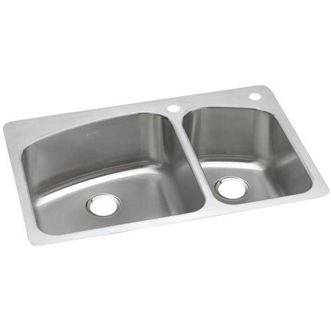 Dual Mount Sink by Elkay Dayton Dual Mount Stainless Steel 33 In 2