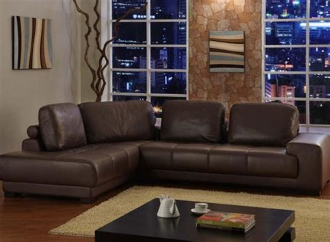 Living Room With Brown Sofa Brown Living Room Sofa Modern House