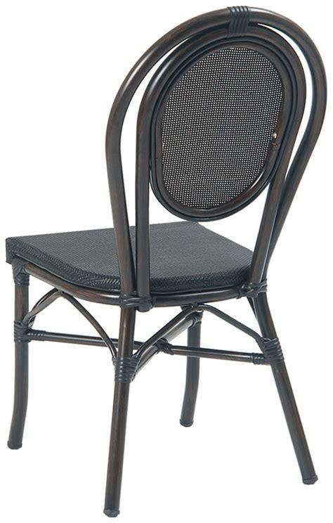black aluminum patio furniture economy black aluminum patio chair with black rattan