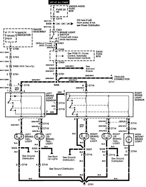 28 1991 honda accord wiring diagram 1991 honda
