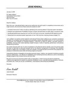 Finance Executive Cover Letter by Exle Of Cover Letters For Resume Resume Format Pdf