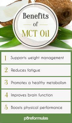 Can Mct Be Used During Detox by 1000 Ideas About Mct Benefits On Mct