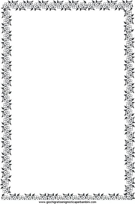 cornici semplici fondi e cornici 41 disegni da colorare