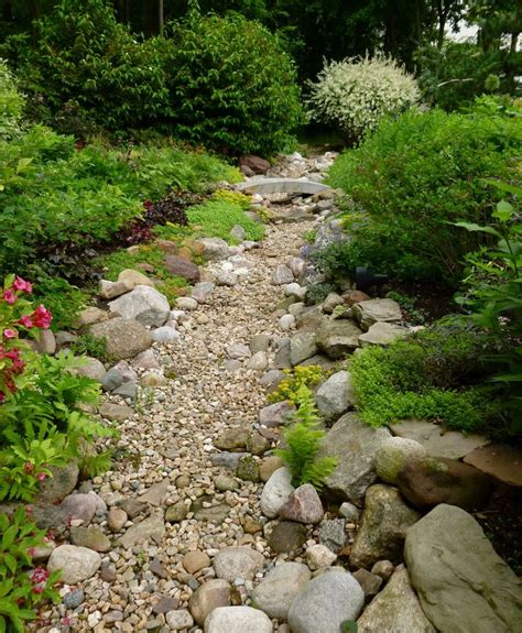 dry river bed landscaping dry riverbed drought tolerant landscaping pinterest