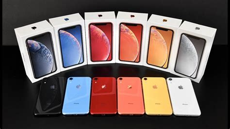 apple iphone xr unboxing review all colors